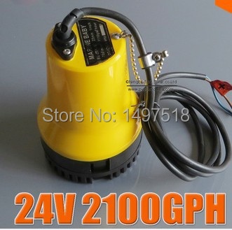 24V 50W BL2524 Bilge Pump 3m3/h small DC Submersible water pump for Fountain garden irrigation swimming pool cleaning farming dc water pump 12v dc40a 1245 for garden fountain music fountain swimming pool submersible 620l h 4m maintenance free