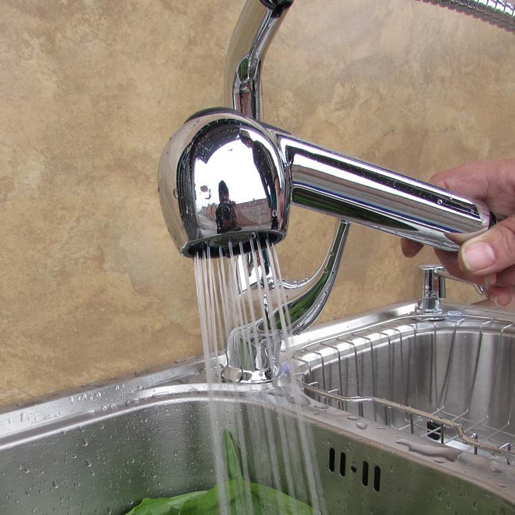 ABS выдвижной кран-распылитель головки, кухонный кран запасная часть хромированная полированная