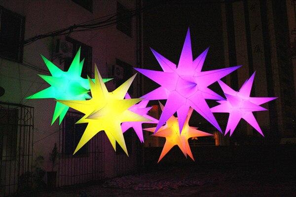 Бесплатная доставка диаметр 2 м надувные Рождество украшения звезды/надувные ПВХ звезда для Рождество