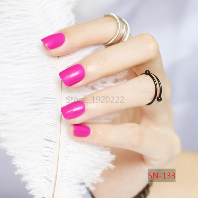 Ногти ярких цветов 4