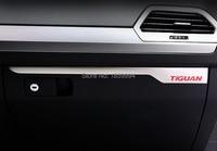 For VW Tiguan MK2 2016 2017 2018 Co Pilot Copilot Glove Box Trim Panel Cover Sticker