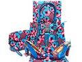 Nuevo Estilo de África Zapatos Y Bolso Y 6 Yardas Cera Holandés tela de Moda Mujer de Super Hollandais Cera de Zapatos Y Bolsa de Conjunto HNY08-6