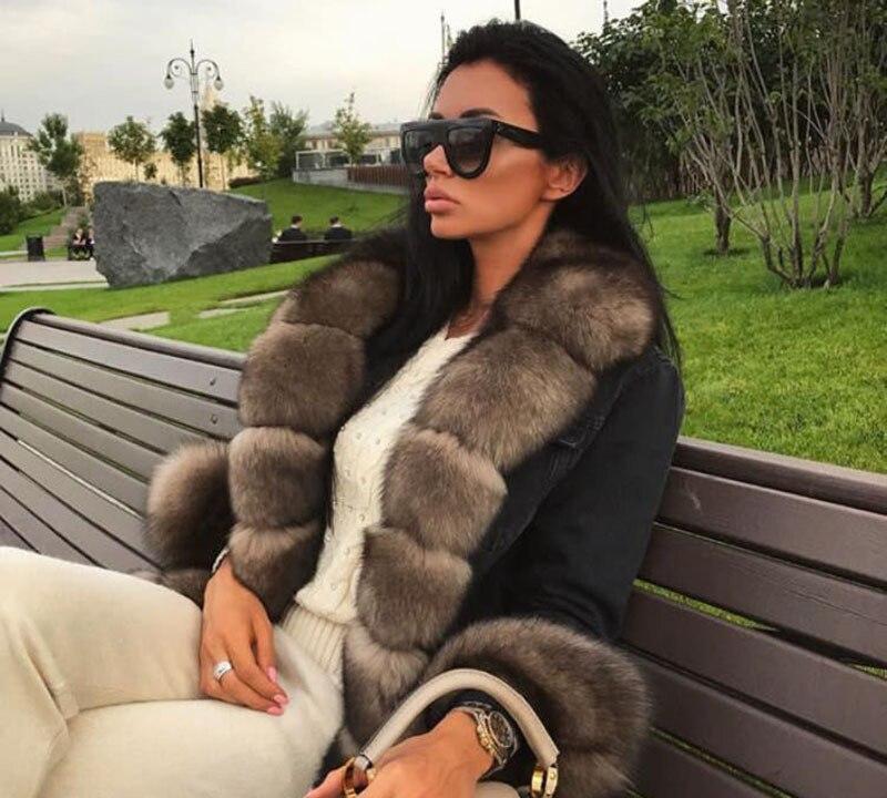 Новинка 2018, натуральное Прямое пальто с натуральным кроличьим мехом, зимняя куртка с натуральным лисьим мехом, толстые теплые парки, верхня
