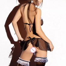 Women's Naughty Maid Bra and Skirt Uniform