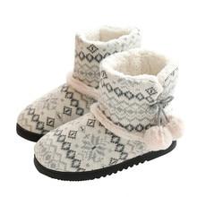 Suihyung 2019 yeni kış sıcak kadın kapalı ayakkabı kısa peluş yarım çizmeler kalın kaşmir pamuk yastıklı ayakkabı üzerinde kayma kadın Botas