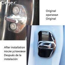 Door-Lock-Cover Renault Car-Accessories for Scenic Captur Megane-2-3-4-Duster/fluence