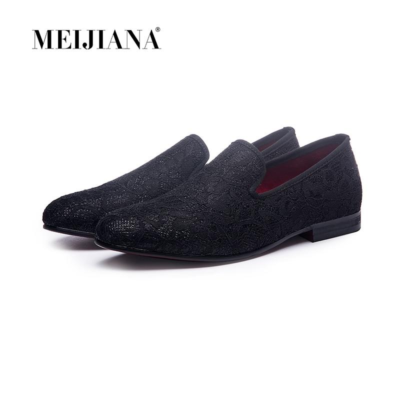 2017 Spitze Nähen Baumwolle Stoff Handgemachte Männer Kleid Schuhe Einfache Und Gentleman Stil Männer Müßiggänger Mode
