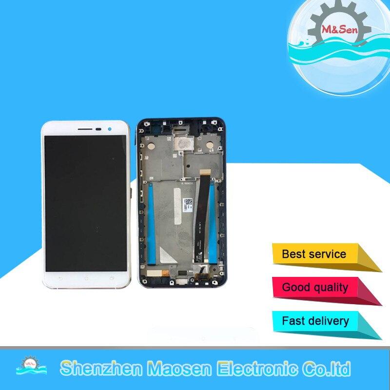 asus z017d zenfone 3 ze520kl - M&Sen For 5.2 Asus ZenFone 3 ZE520KL Z017D LCD Screen Display+Touch Panel Digitizer With Frame For Asus ZenFone 3 ZE520KL Lcd