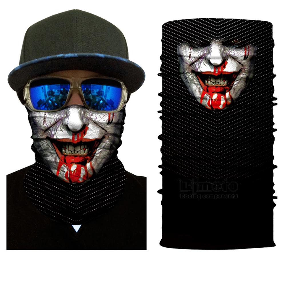 Multifunctional Motorcycle Face Shield Bandana Skull Scarf UPF High Quality Tube Skull Face Mask Shield Seamless Bandanas (10)