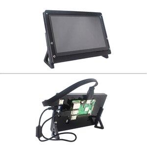 Image 5 - 7 inch Raspberry Pi 4 Model B 3B LCD Display Touch Screen 1024*600 800*480 HDMI TFT Optional Holder for Nvidia Jetson Nano PC