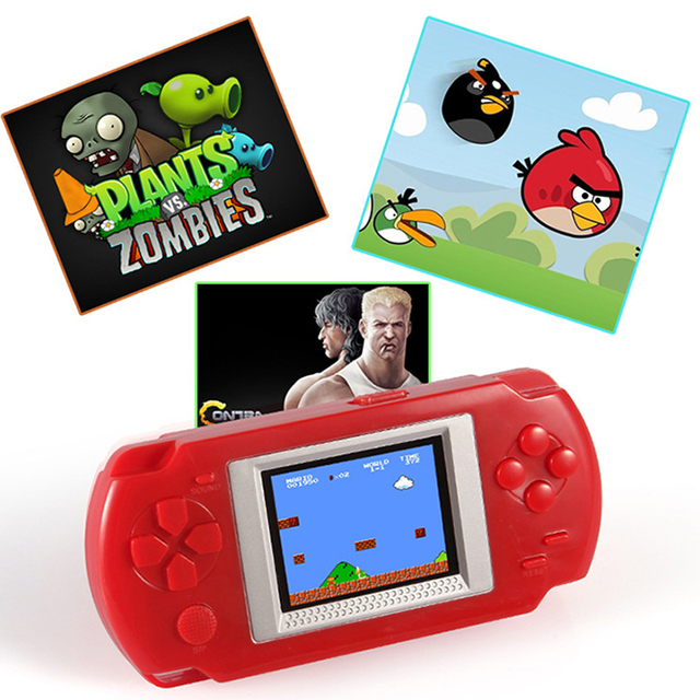 "Ultra-Thin Portable 2.0"" Color screen Video Games Consoles 268-in-1 Classic Games Handheld Game player"