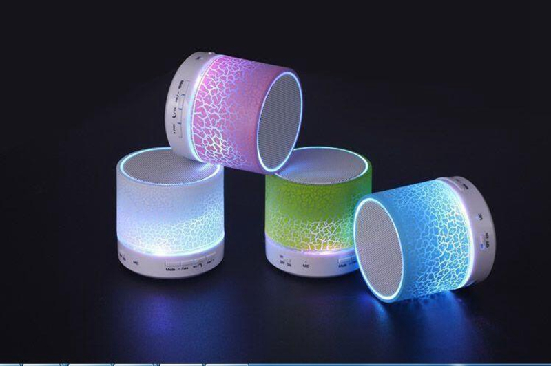 Ollivan A9 LED Bluetooth Speaker Mini Speakers Hands Free Portable Wireless Speaker With TF Card Mic USB Audio Music Player (23)