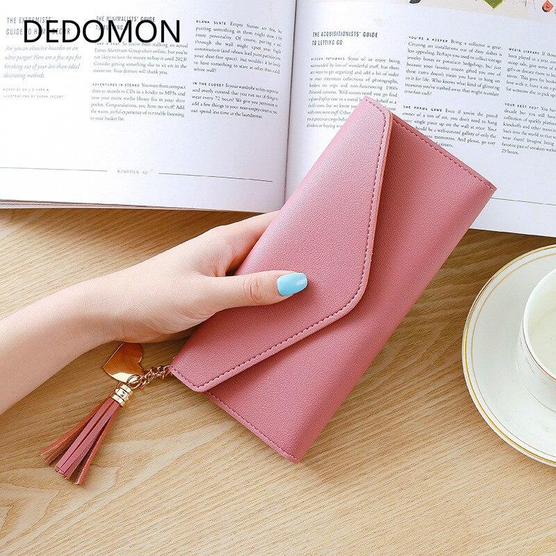 Women Wallets Multifunction PU Leather Women's Long Design Purse Female Card