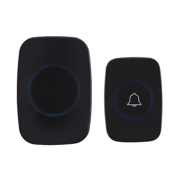 Wireless Waterproof Doorbell 1 Button 2 Receiver 300M Remote Control Smart Cordless Home door bell 60 chime US EU UK Plug