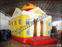 inflatable jump building house bouncer for kids