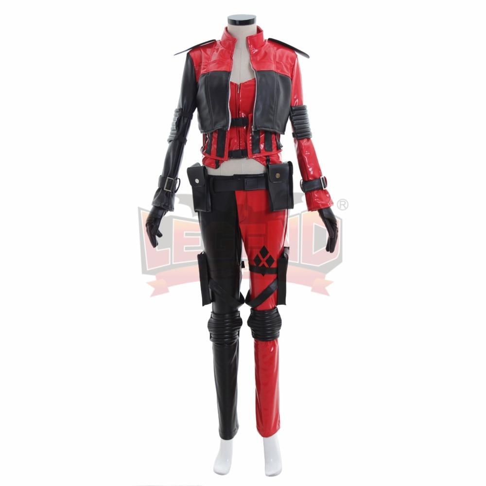 все цены на Cosplaylegend Injustice: Gods Among Us Ultimate 2 Harley Quinn Cosplay adult costume custom made Harley Quinn csotume