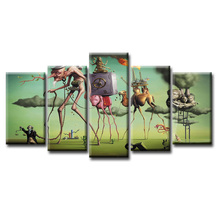 Wholesale 5 Pieces/set Abstract time series Canvas Painting for living room Decoration Print Pictures Framed/Abstract- 83