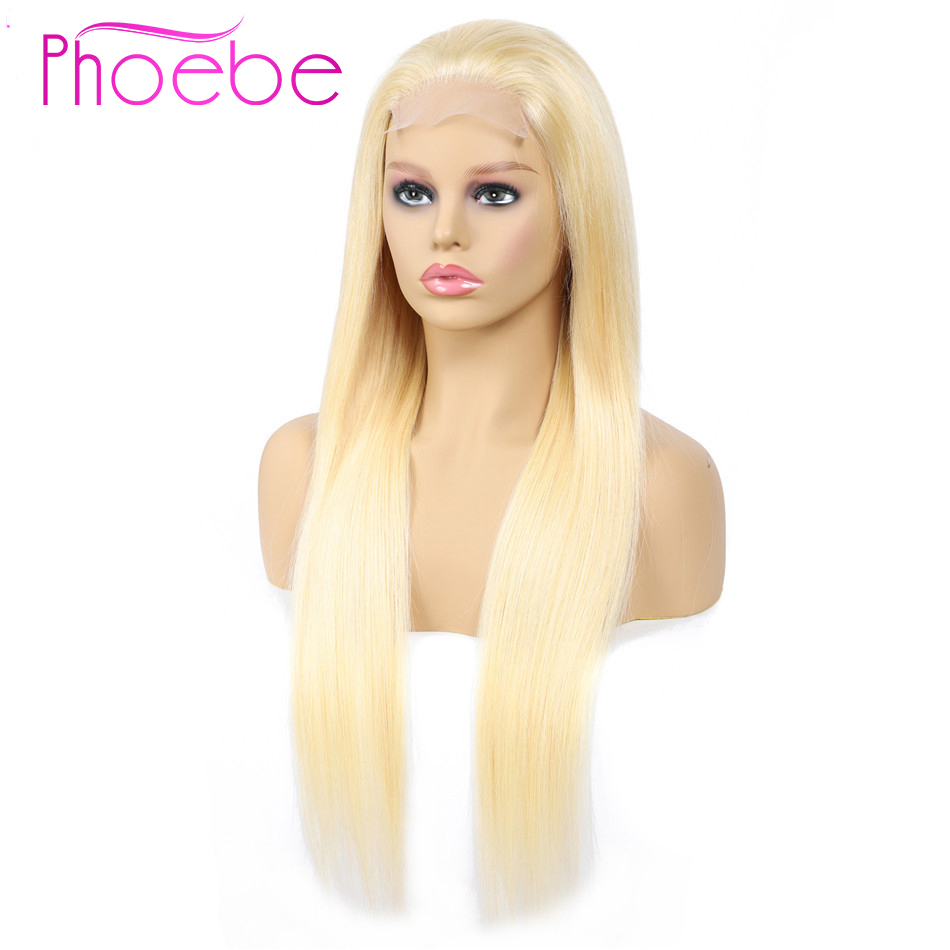 Phoebe 4x4 Lace Closure 150 Density Human Hair 613 Blonde Wigs Peruvian Remy Human Hair 10