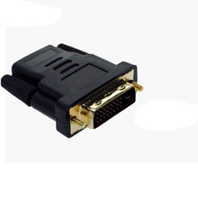 HIPERDEAL DVI-D Male (24+1 pin) To HDMI Female (19-pin) HD HDTV Monitor Display Adapter Jn24(China)