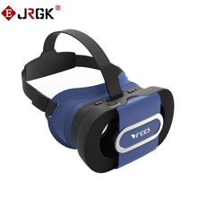 JRGK VR GLASS Virtual Reality Oculos VR Cardboard Foldable 3D Video VR Glasses Box 3D Helmet For 4.7-6.0 inches Smartphone new