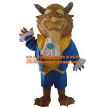 Взрослых Красавица и чудовище костюм чудовище талисмана для продажи для Хэллоуина вечерние события