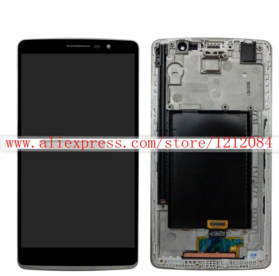 ФОТО Black color For LG G Stylo H631 H635 LS770 H630 Lcd Display screen +touch digitizer glass +frame assembly free shipping