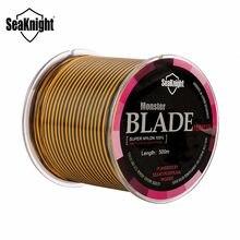 SeaKnight marka 500m 2-35lb naylon olta çok renkli Monofilament japonya malzeme Jig sazan ucuz tel balıkçılık Linha Pesca