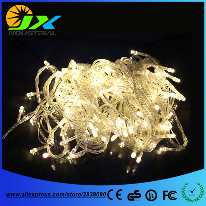 NEW warm white Color String Light 50M 400 LED holiday/ Christmas/Wedding/Party Decoration Lights 220V outdoor Waterproof led