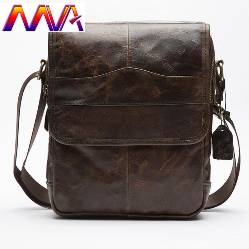 8aee6a83e6ce Mva Для мужчин сумка дешевые цена кожа коровы Для мужчин сумка Высокое  качество из натуральной кожи Для мужчин сумка
