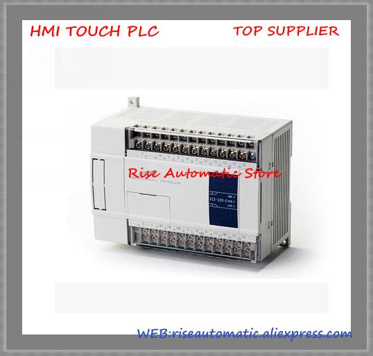 New Original XC2-24RT-E PLC AC220V 3COM +cable& 14point NPN input 10point Transistor/Relay output new original 36point npn input 24point relay output xc2 60r e plc ac220v