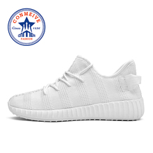 New Arrival Breathable Men Running Shoes Summer Mesh Light Cushioning Lace Up Man Sneakers