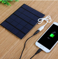 3.5WUSB solar mobile charger for mobile power, solar charger polycrystalline solar cell solar panel