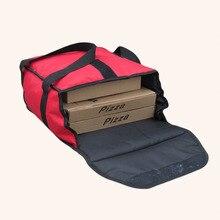 Мешок доставки еды для 13 дюймов пиццы 36*36*18cm пиццы теплоизоляционная сумка для доставки пиццы-красный цвет вынуть еды