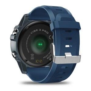 """Image 2 - Zeblaze VIBE 3 برو ساعة ذكية الرجال 1.3 """"شاشة المعصم بلوتوث 4.0 مراقب معدل ضربات القلب IP67 مقاوم للماء الرياضة Smartwatch"""