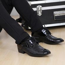 Мужские туфли-оксфорды мужская кожаная Sapatos Платья офисные роскошные мужские весенние повседневные Обувь винтажные офисные Мужская обувь на плоской подошве бизнес Zapatos