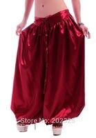 A la venta de estimulantes de TIPO ANFETAMÍNICO Traje de pantalones de danza del vientre Danza Del Vientre danza Del Vientre Tribal Pantalones Nueva Moda satén bloomers Danza Pantaloons-9002