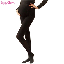 Maternity Leggings Stockings Tights For Pregnant Women High Elastic 120D Pregnancy Pantyhose