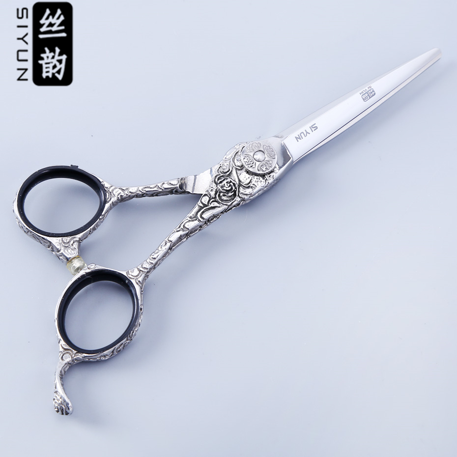 2329.67руб. |Si yun ножницы высокого качества SUS440C материалы 5,5 дюймов (15,00 см) Длина YC55 модель для парикмахеров магазин использовать ножницы|materials modelling| |  - AliExpress