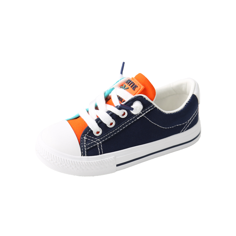 2019 spring and autumn new children 39 s shoes canvas boys and girls shoes color children 39 s shoes children 39 s canvas shoes tide in Sneakers from Mother amp Kids