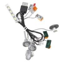 LED Light Kit for LEGO for Creator for 10242 (LIGHT KIT ONLY) USB Power Toy Car Model Lighting Accessories