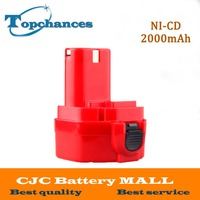 Red 12V PA12 2000mAh Ni CD Rechargeable Battery For Makita Replacement Power Tool Battery For Makita