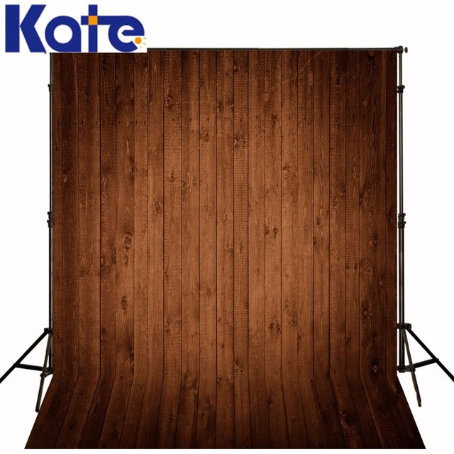 Photography Backdrops Light Coffee Color Wood Wood Brick Wall Backgrounds  For Photo Studio Ntzc 119