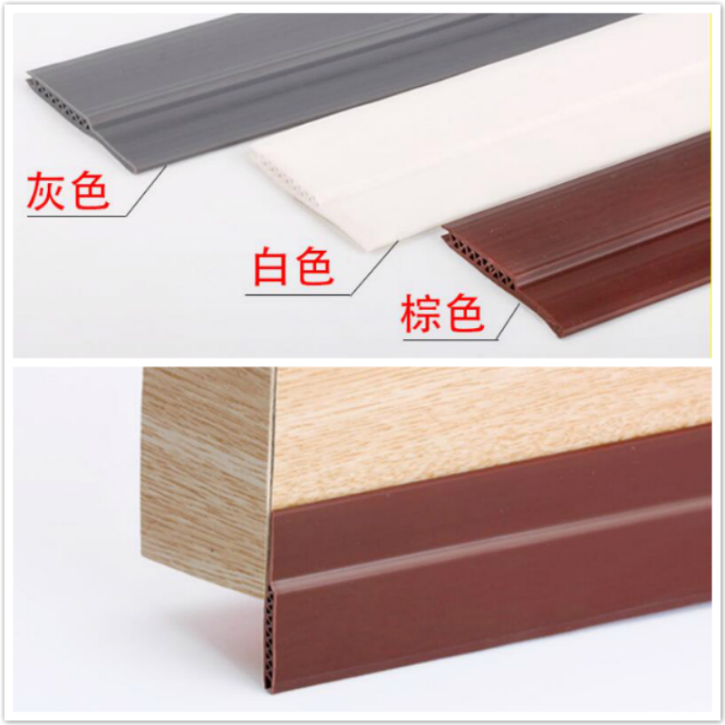 Acoustic Door Bottom Sealing Silicone Draft Stopper Adhesive Threshold Seals 45 x 910mm 1200mm Brown Gray White|  - title=