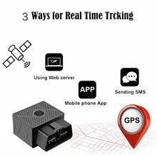 Mini Plug Play OBD GPS Tracker Car GSM OBDII Vehicle Tracking Device OBD2 16 PIN Interface X2 New