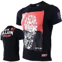 VSZAP Justice, Спортивная футболка с короткими рукавами для тренировок с большой стопой MMA, wulin wind