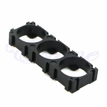 OOTDTY 10pcs Electric Car Bike Toy Battery 18650 Spacer Radiating Holder Bracket New image