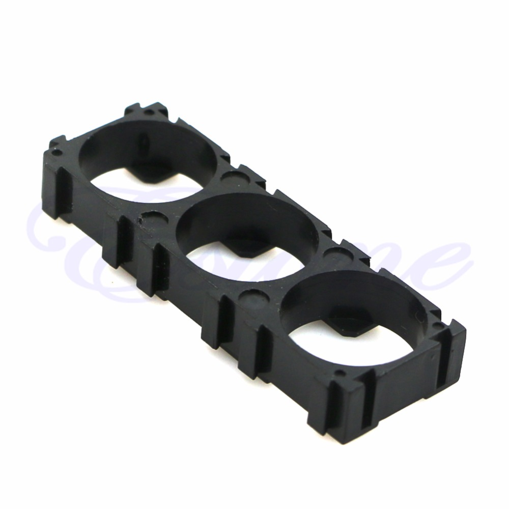 OOTDTY 10pcs Electric Car <font><b>Bike</b></font> Toy Battery <font><b>18650</b></font> Spacer Radiating Holder Bracket New image