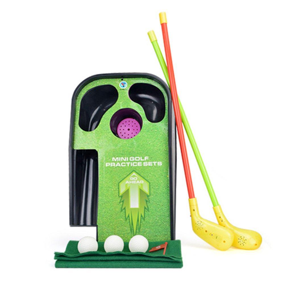 Mini Golf Club Set Golf Ball Sport ABS Golf Club for Children Golf Table With Flag Kids Sport Game Toy Gift children Drop Ship