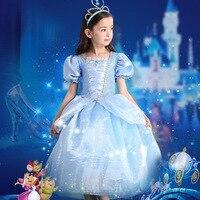 Children Christmas Party Dress Girls Clothes Kids Tutu Princess Dress Cinderella Dress Carnival Performance Costume.YL11B