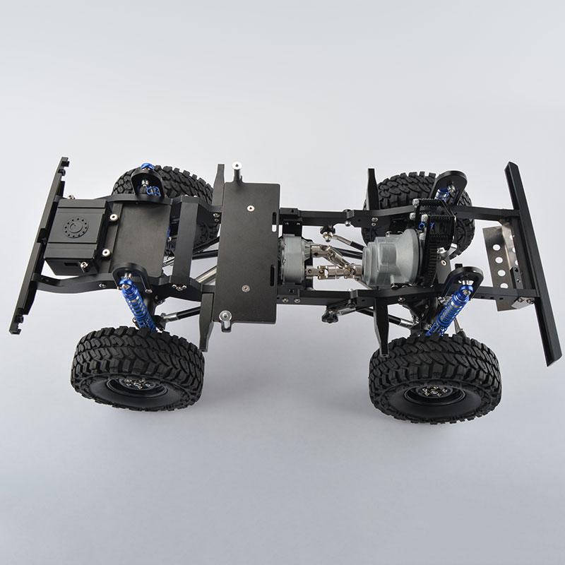 CNC Gefräste 1/10 Maßstab Alloy Rc Rock Crawler Metall Gelande II ...